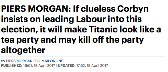 piers morgan daily mail corbyn