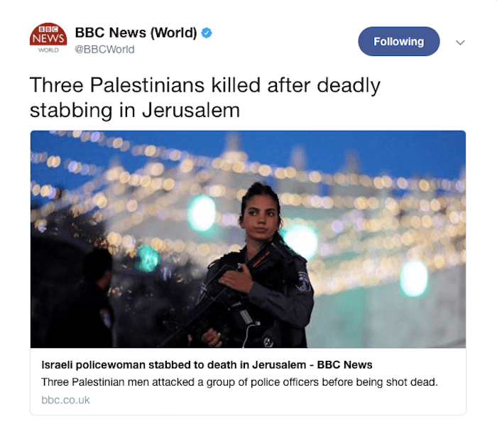 Three-Palestinians-killed-police Israel BBC