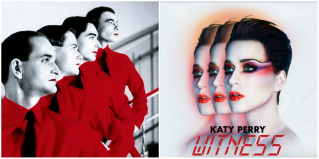 katy perry bot kraftwerk hair