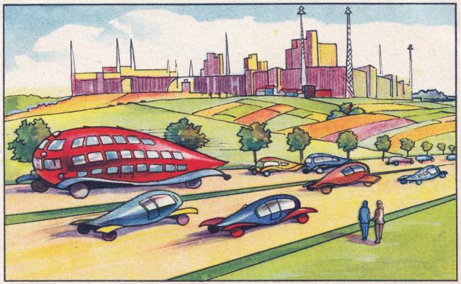 zukunftsfantasien 1930 German futurism