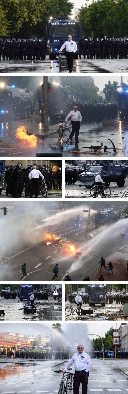 G20 photobomb