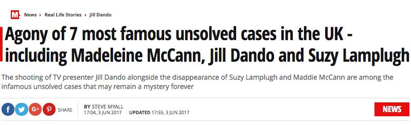 Madeleine Mccann daily mirror