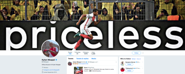 Kylian Mbappé Verified account @ KMbappe