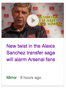 daily mirror balls alexis sanchez