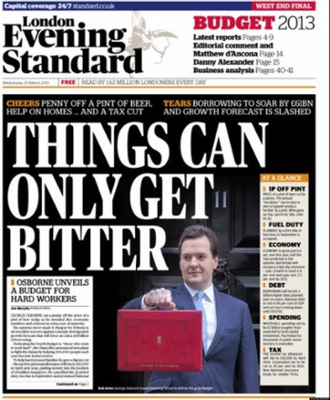 osborne evening standard