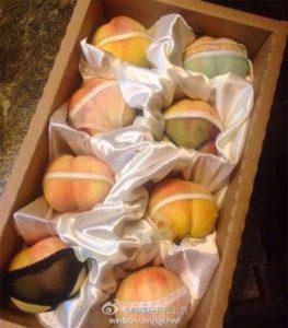 peaches bums