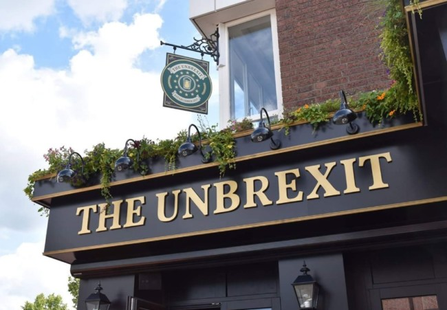 UnBrexit pub germany