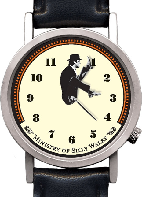 ministry of willy walks clock