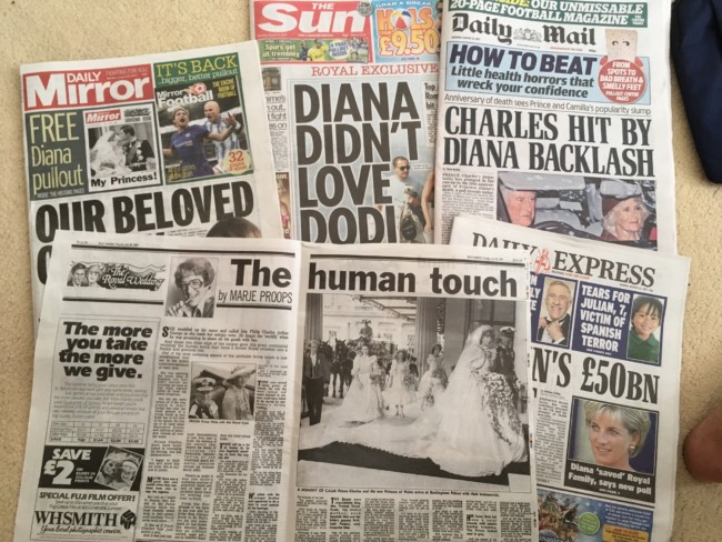 princess diana dead 20 years