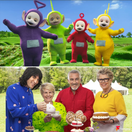 Bake off Teletubbies