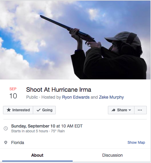 hurricane irma guns