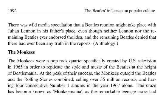 Title: The Beatles Editor: By Wikipedians