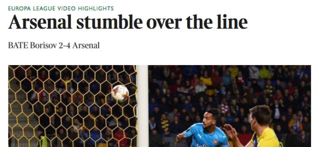 Times Arsenal