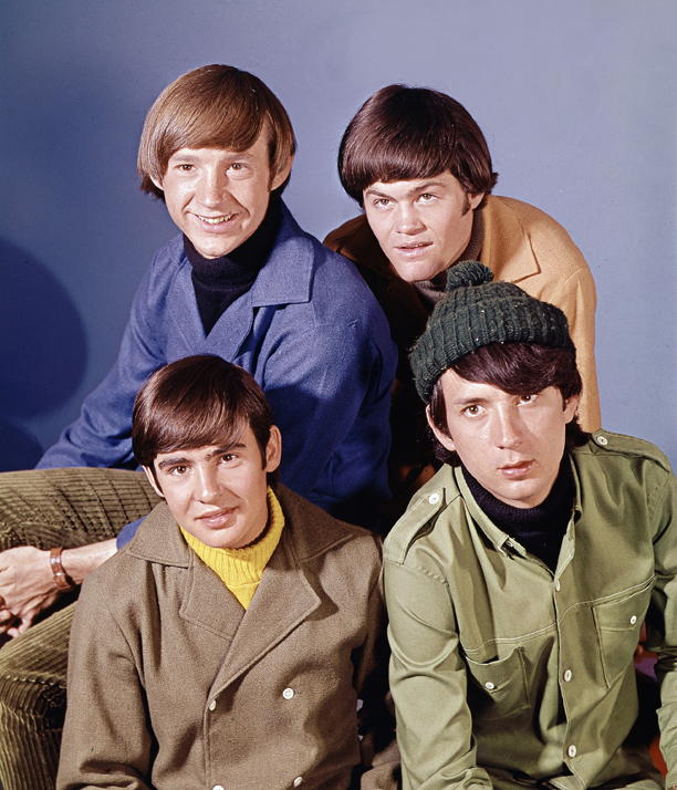 "Pop musical group, ""The Monkees"" are shown in this Oct. 20, 1966 photo. At top are: Peter Tork, right, and Mickey Dolenz. At bottom are: David Jones, left, and Mike Nesmith. (AP Photo)"