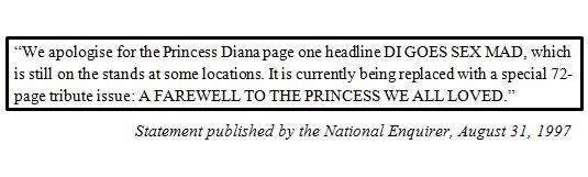 national enquirer apoogy dodi diana sex