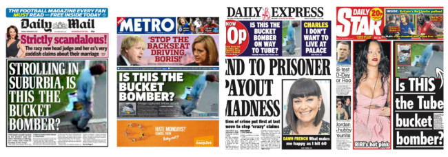 parsons green newspapers tabloids