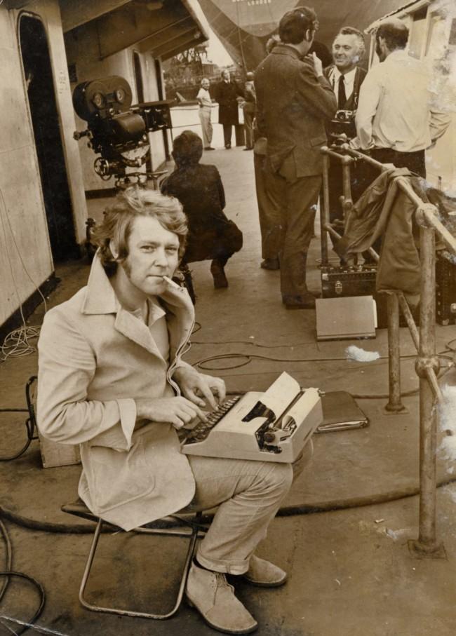 Ted Lewis – on location – Gateshead August 1970