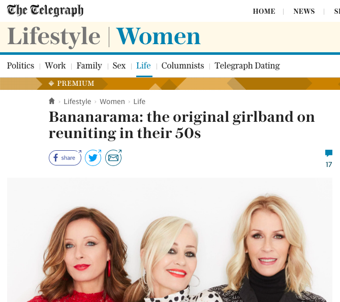 bananarama girl band