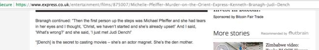murder on the orient express kenneth branagh michelle pfeiffer fail
