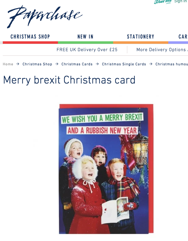 paperchase brexit