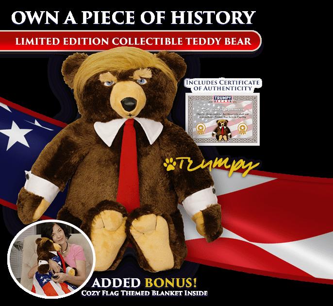 Trump bear donald trump tedy
