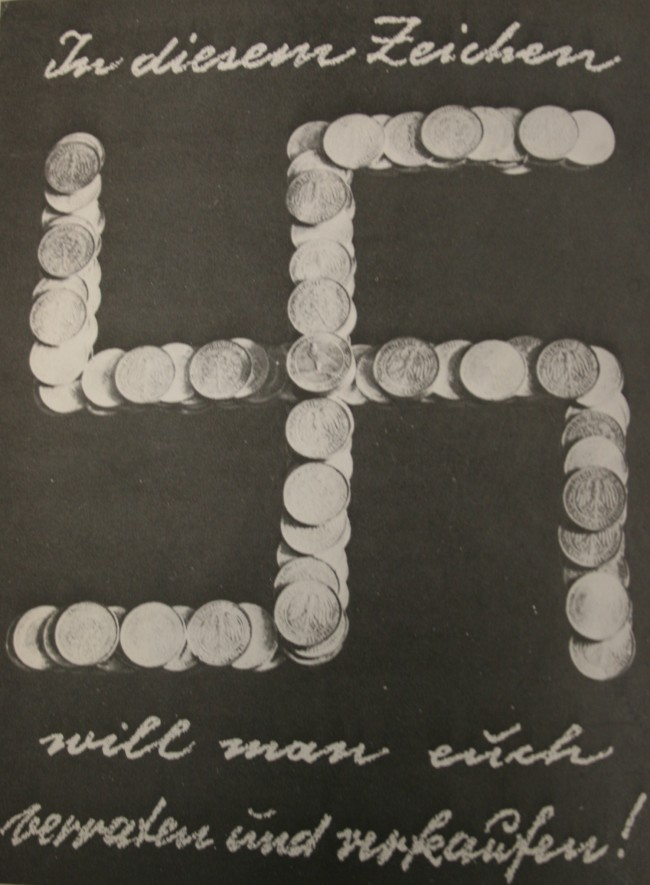 John Heartfield, With this sign we want to betray you