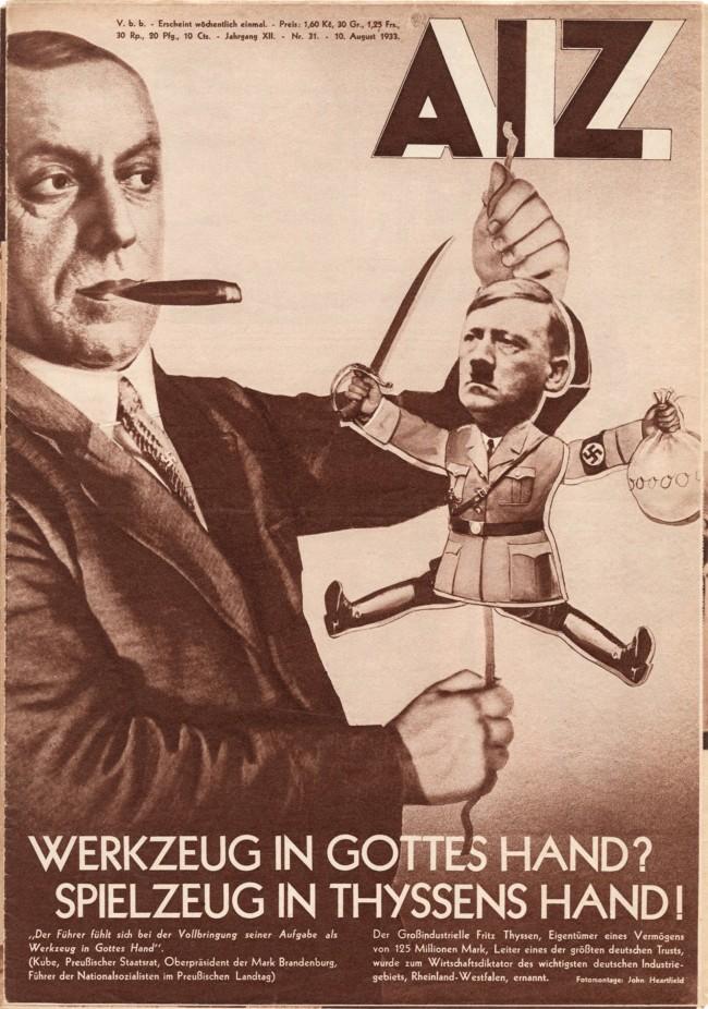 Arbeiter Illustrierte Zeitung, 10 August 1933