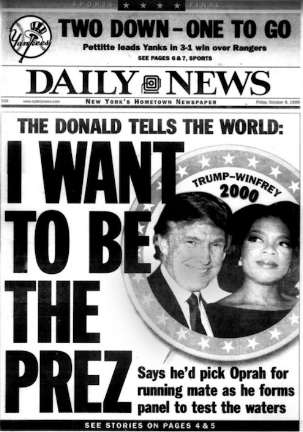 trump oprah daily news