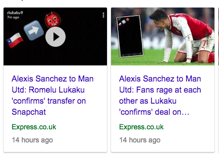 Alexis Sanchez to Man Utd: Romelu Lukaku 'confirms' transfer on Snapchat