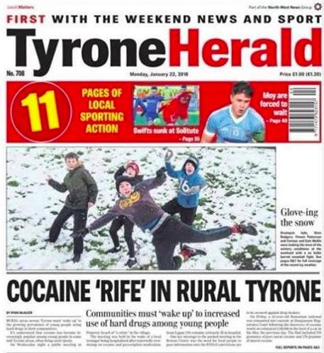tyrone herald cocaine funny