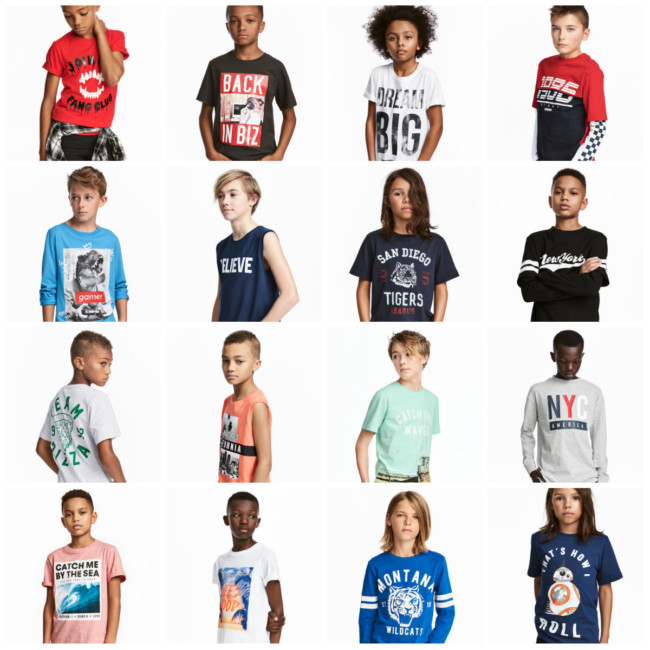 h&m clothing racist