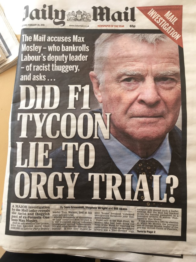 Max Mosley racism
