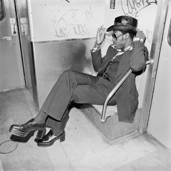 Jive Guy on Williamsburg Subway Brooklyn, NY March 1978