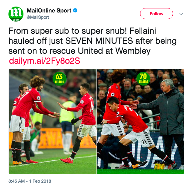 fellaini mail daily manchester united