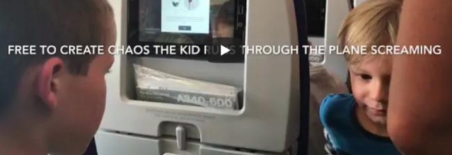 demonic child plane