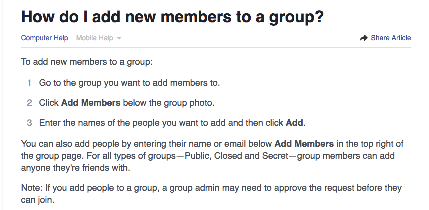how to leave a facebook group without them knowing