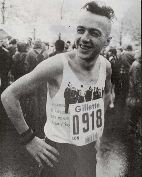 Joe strummer London marathon