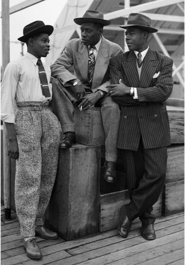 22nd June 1948- Newly arrived Jamaican immigrants on board the 'Empire Windrush'