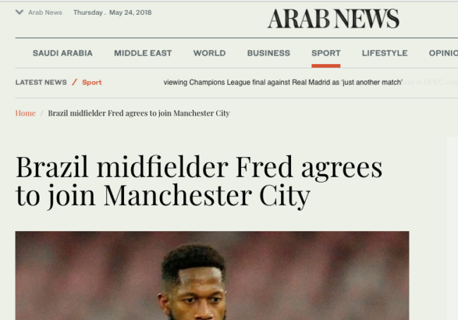 fred man city arab news