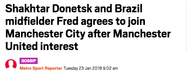fred the metro manchester city