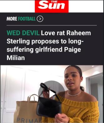 raheem sterling the sun
