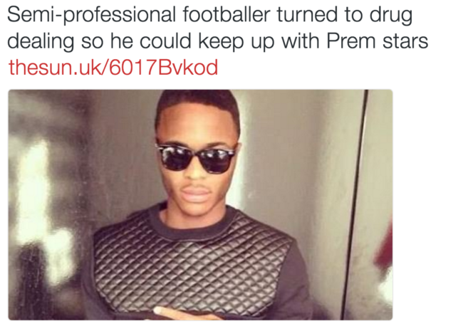raheem sterling drugs