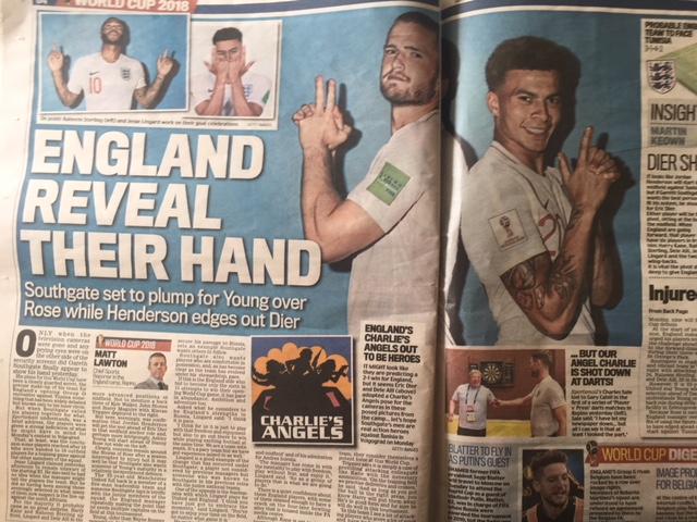 england world cup guns