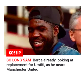 umtiti balls man united