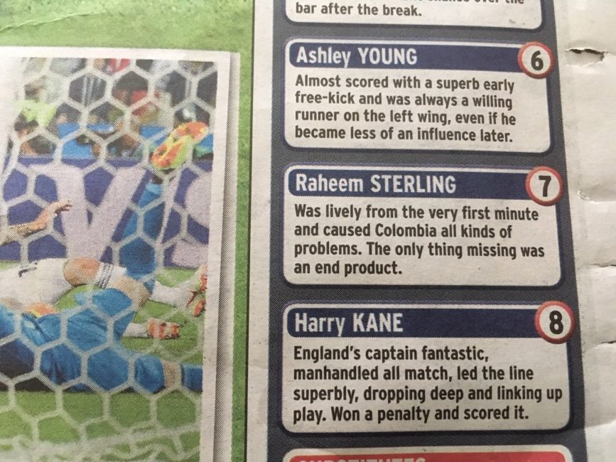 Raheem sterling england colombia
