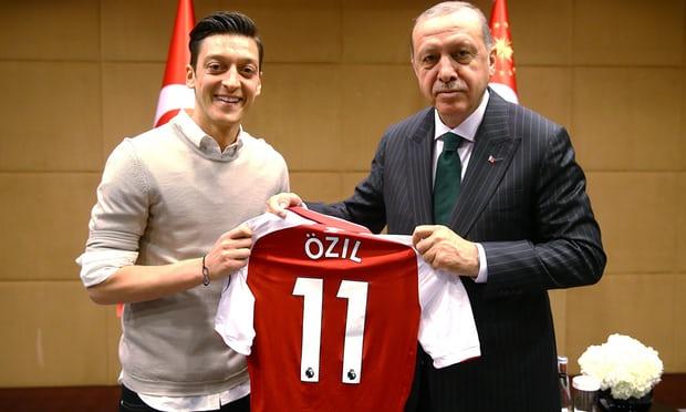 ozil erdogan gundogan