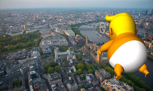 trump london baby