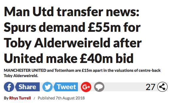Toby Alderweireld transfer