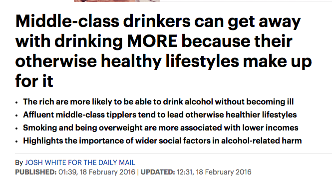 daily mail drinking
