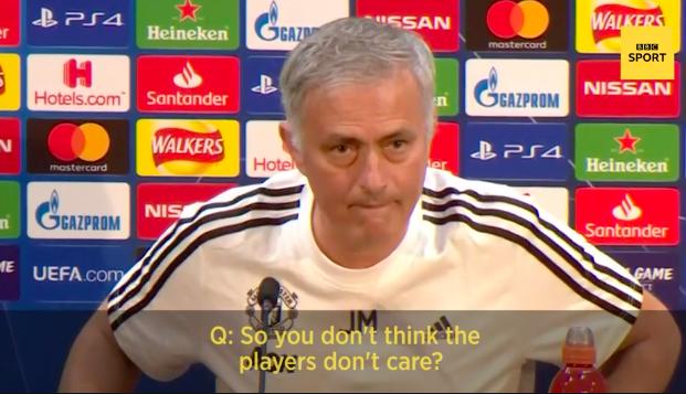 mourinho betrayed manchester united